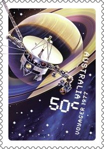 Space probe Voyager 1977