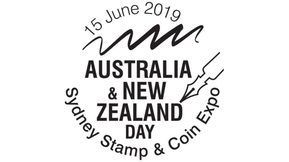 Sydney Stamp and Coin Show 2019 day 03 postmark