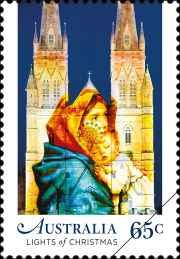 christmas 2017 religious 65c stamp