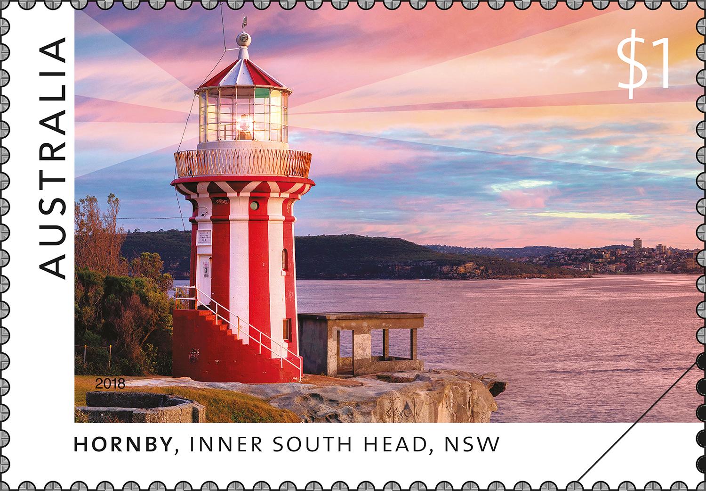澳大利亚10月23日发行悉尼灯塔邮票